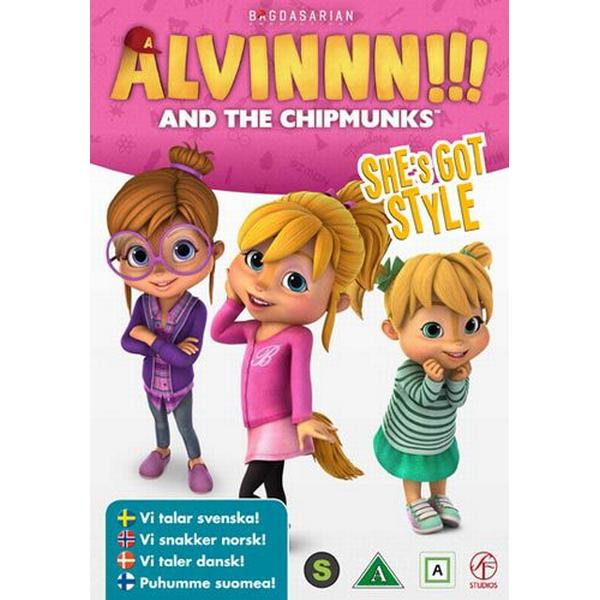 Alvinnn!!! And The Chipmunks vol 6 (DVD) (DVD 2015)