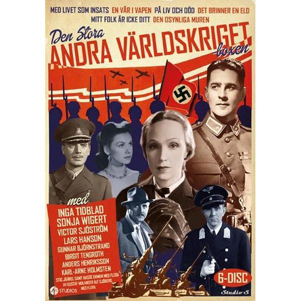 Den stora Andra Världskriget-boxen (6DVD) (DVD 2016)