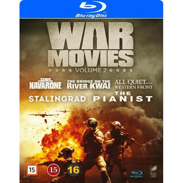 War movies: Vol 2 5 filmer (5Blu-ray) (Blu-Ray 2016)