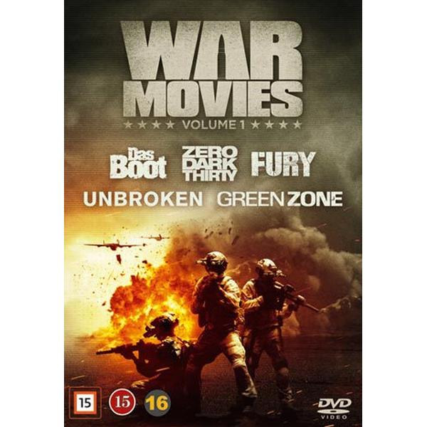 War movies: Vol 1 5 filmer (5DVD) (DVD 2016)