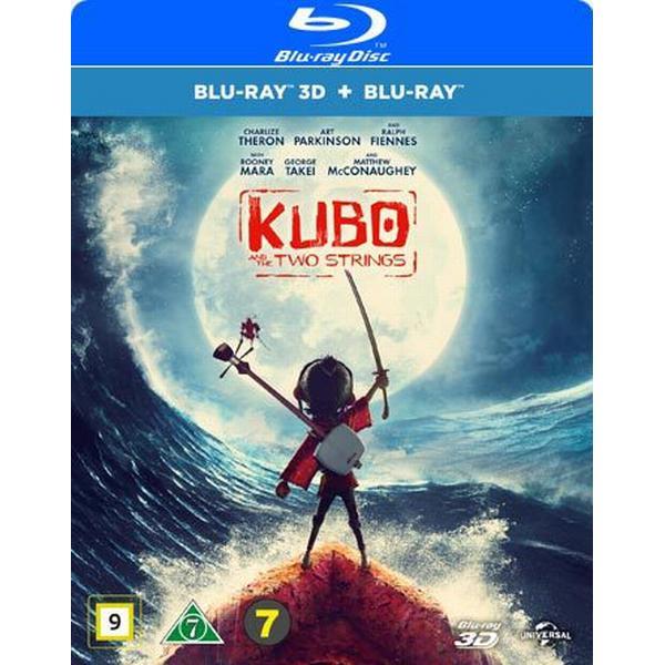Kubo och de två strängarna 3D (Blu-ray 3D + Blu-ray) (3D Blu-Ray 2016)