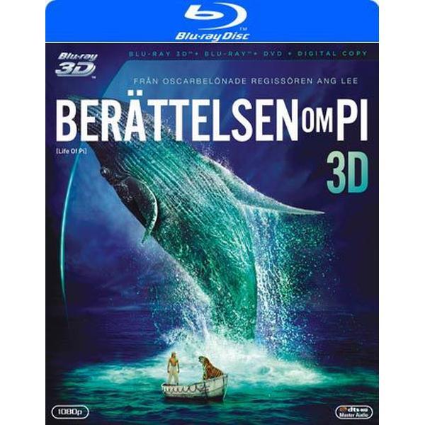 Berättelsen om Pi 3D (Blu-ray 3D) (3D Blu-Ray 2012)