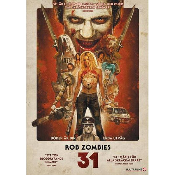 Rob Zombies 31 (DVD) (DVD 2016)