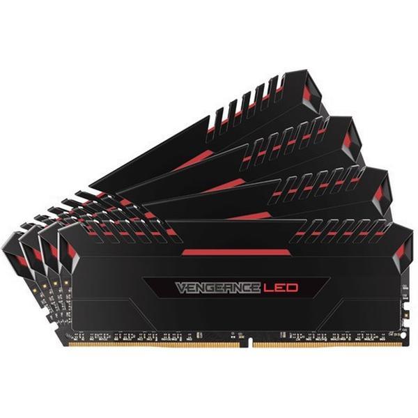 Corsair Vengeance LED DDR4 2666MHz 4x16GB (CMU64GX4M4A2666C16R)