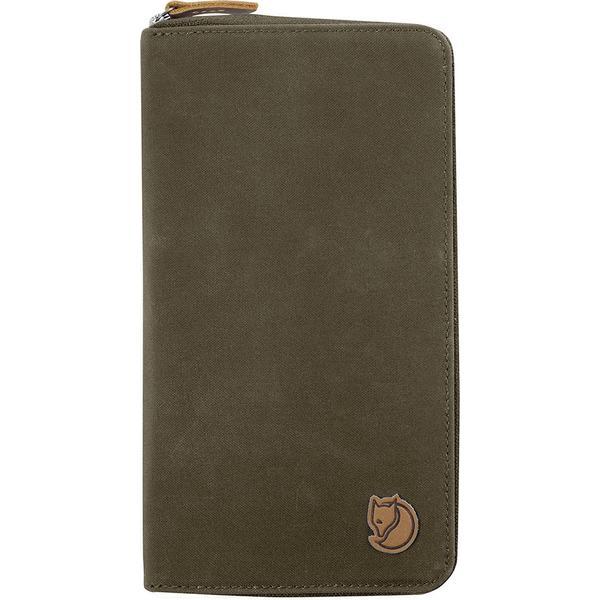 Fjällräven Travel Wallet - Dark Olive (F24219)