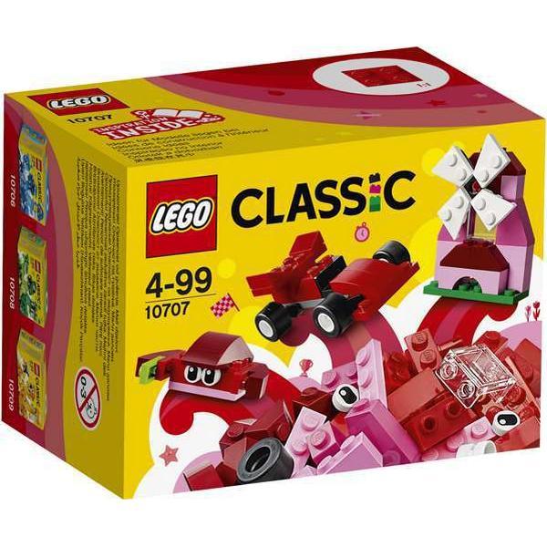 16c6088d1e6 Lego Classic Red Creativity Box 10707 - Compare Prices - PriceRunner UK