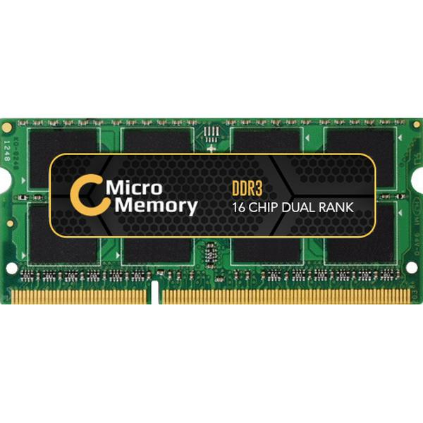 MicroMemory DDR3 1066MHz 2GB for Toshiba (MMT3168/2048)