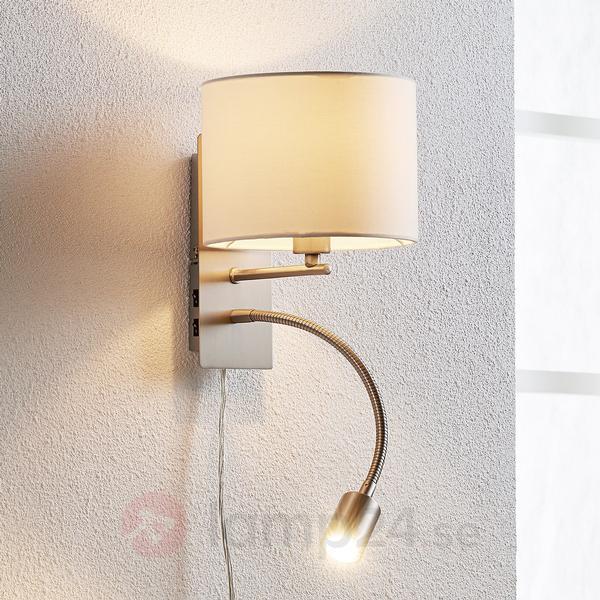 Lampenwelt Florens Väggarmatur