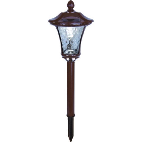 Star Trading Solar Energy Garden Lantern Brown Markbelysning