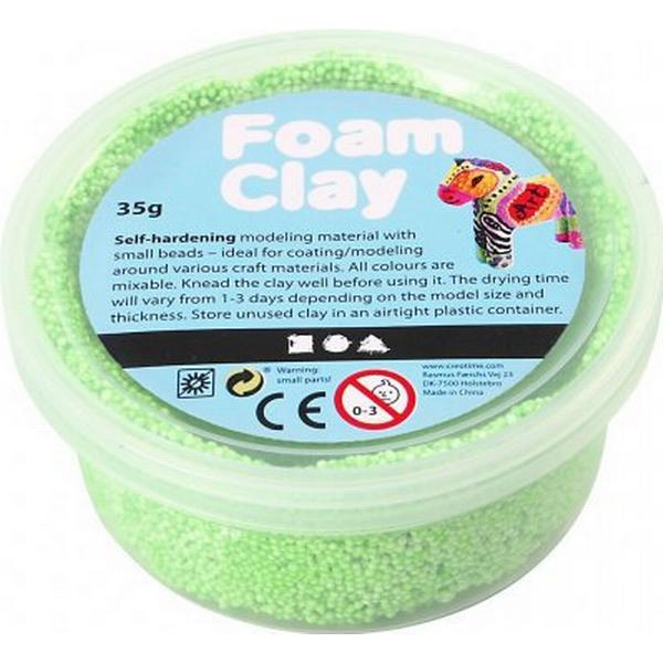 Foam Clay Neon Green Clay 35g