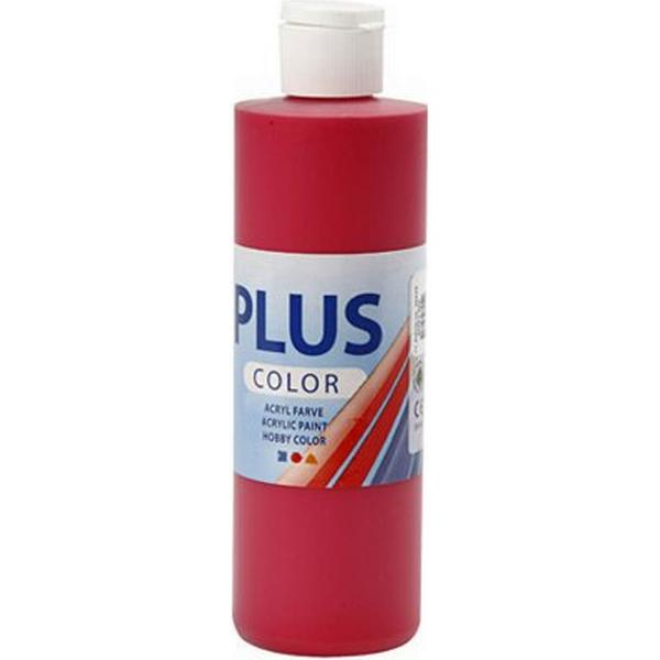 Plus Acrylic Paint Berry Red 250ml