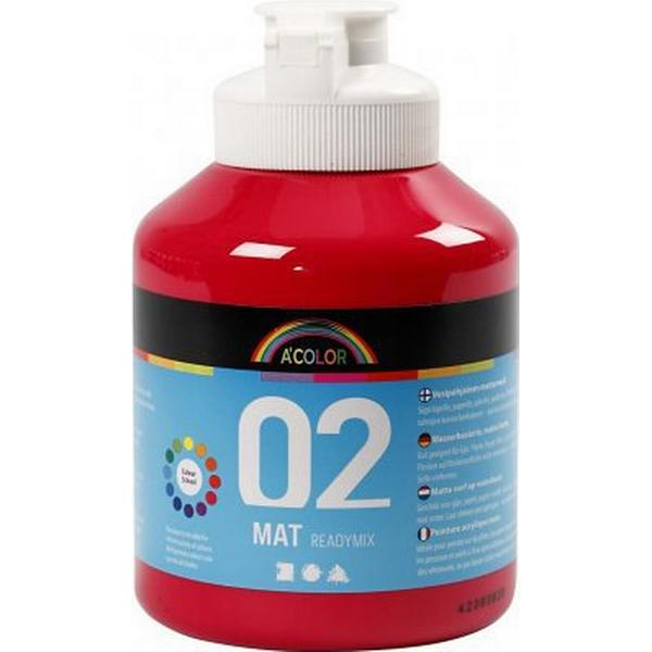 A Color Matt Readymix Primary Red 500ml