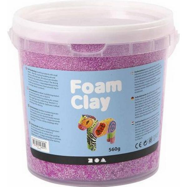Foam Clay Neon Purple Clay 560g