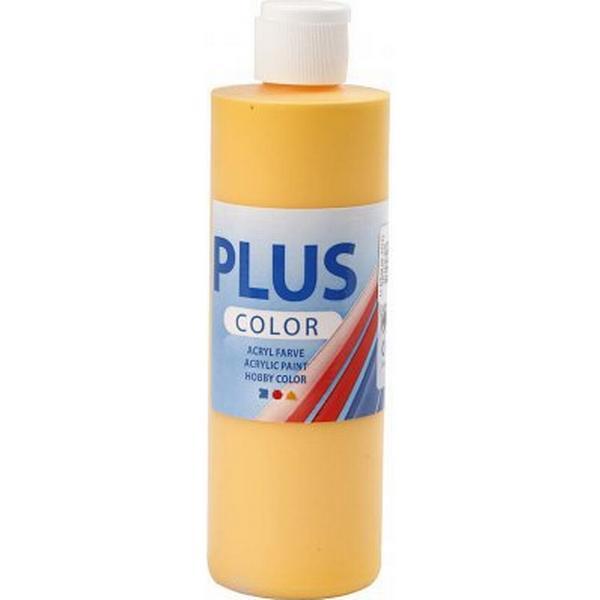 Plus Acrylic Paint Yellow Sun 250ml
