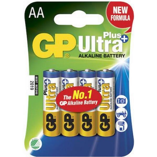 GP Batteries Ultra Plus AA 4-pack