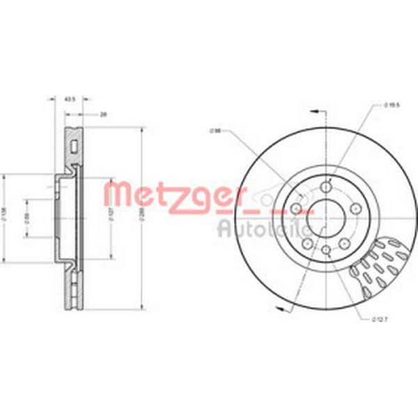 Metzger 6110239