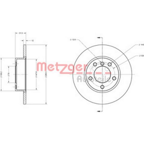 Metzger 6110057