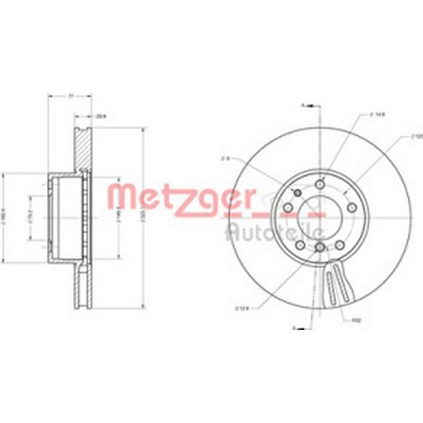Metzger 6110522