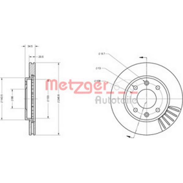 Metzger 6110173