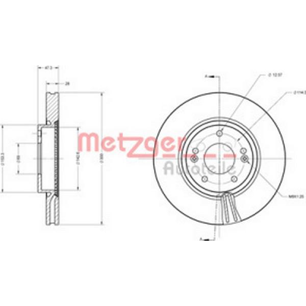 Metzger 6110155