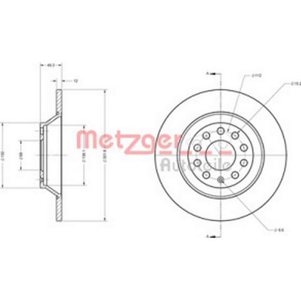 Metzger 6110136