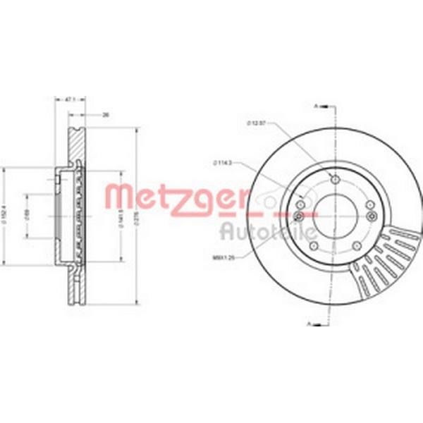 Metzger 6110235