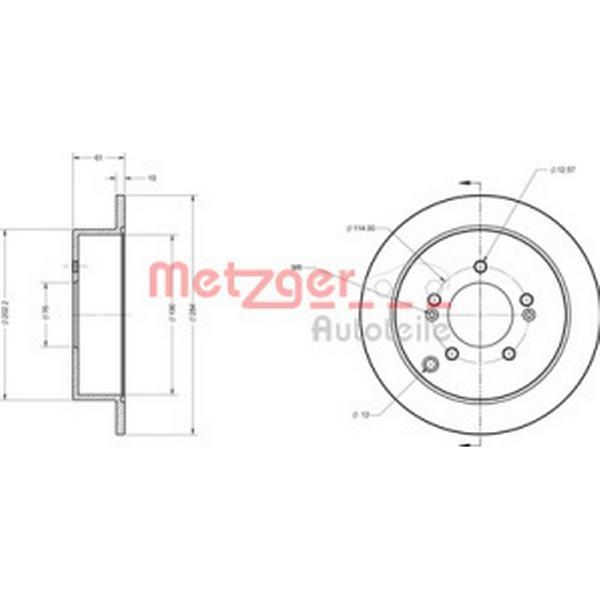 Metzger 6110236