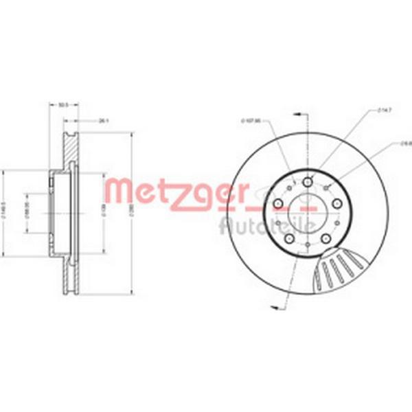 Metzger 6110253