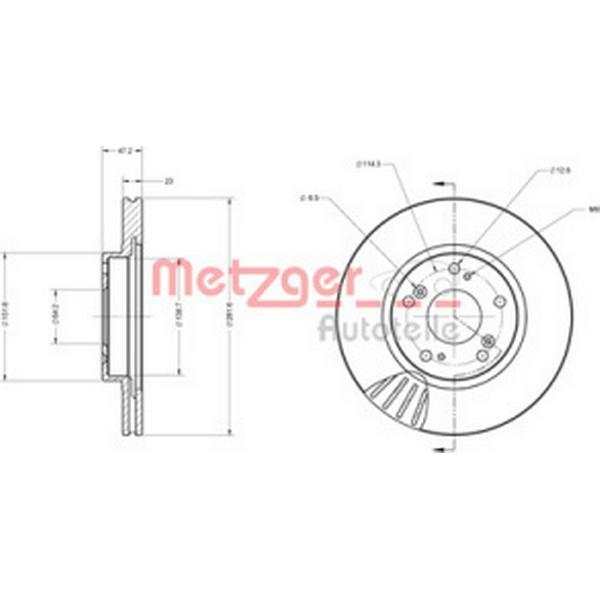 Metzger 6110599