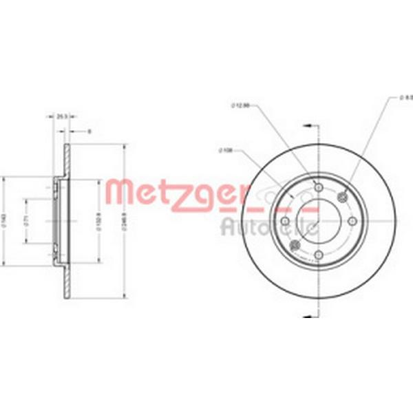 Metzger 6110048
