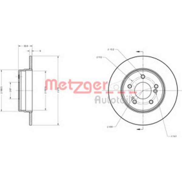 Metzger 6110039