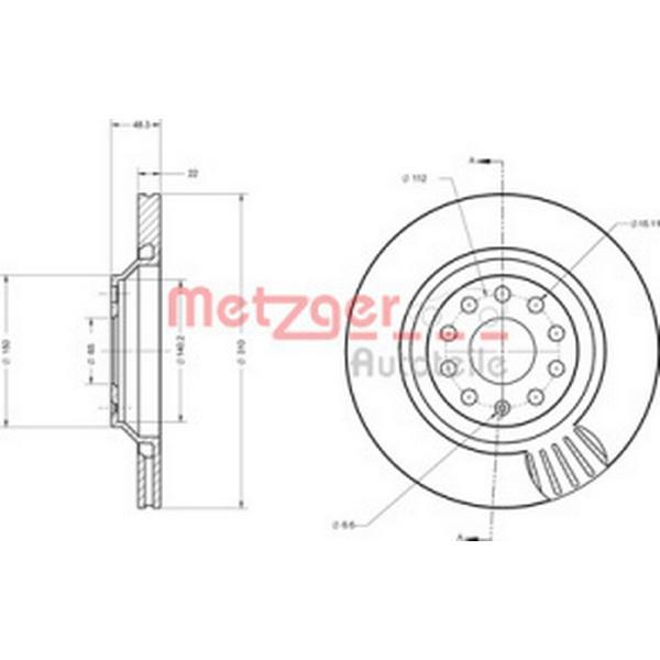Metzger 6110556