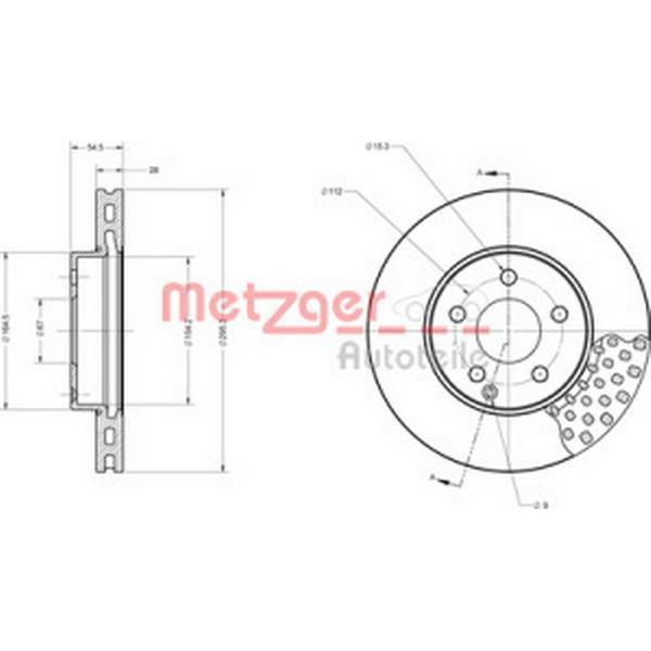 Metzger 6110672
