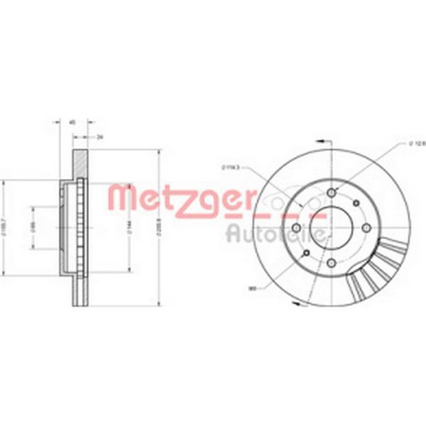 Metzger 6110248