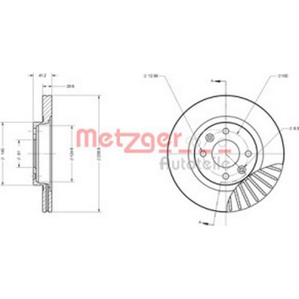 Metzger 6110551