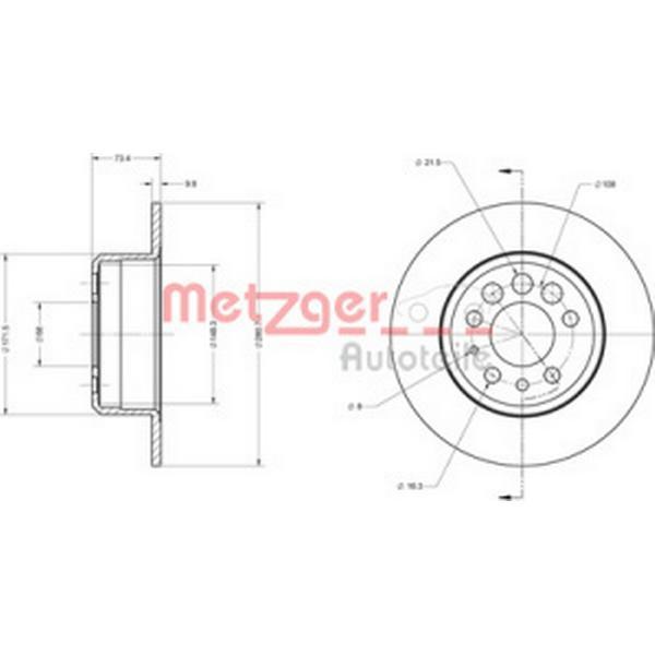 Metzger 6110452