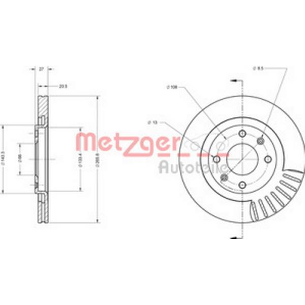 Metzger 6110067