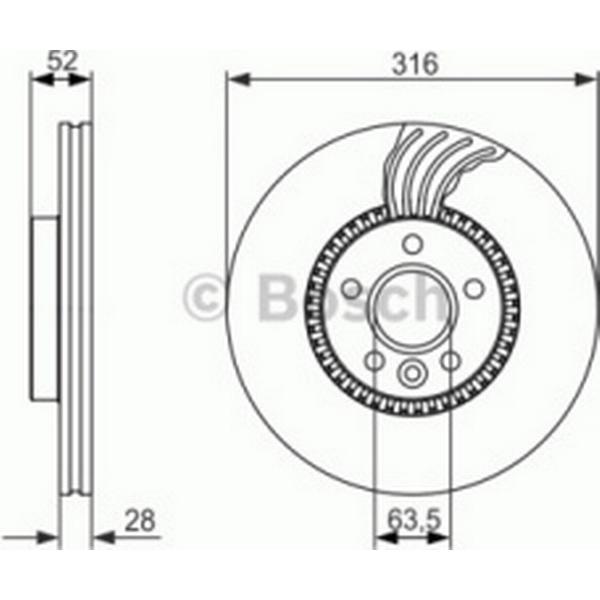 Bosch 0 986 479 C19
