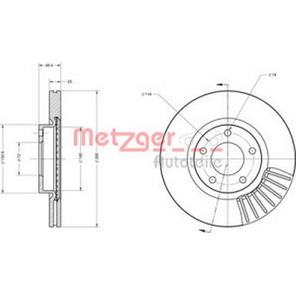 Metzger 6110229