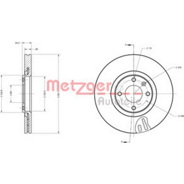 Metzger 6110475