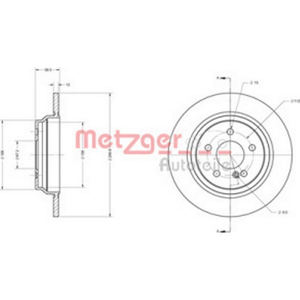 Metzger 6110489