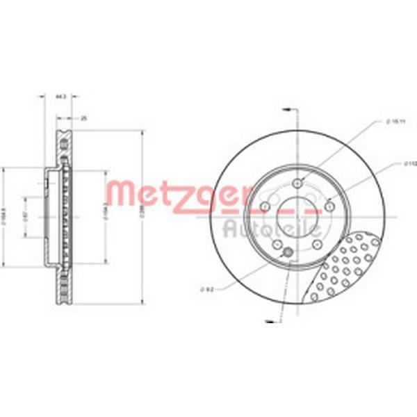 Metzger 6110148