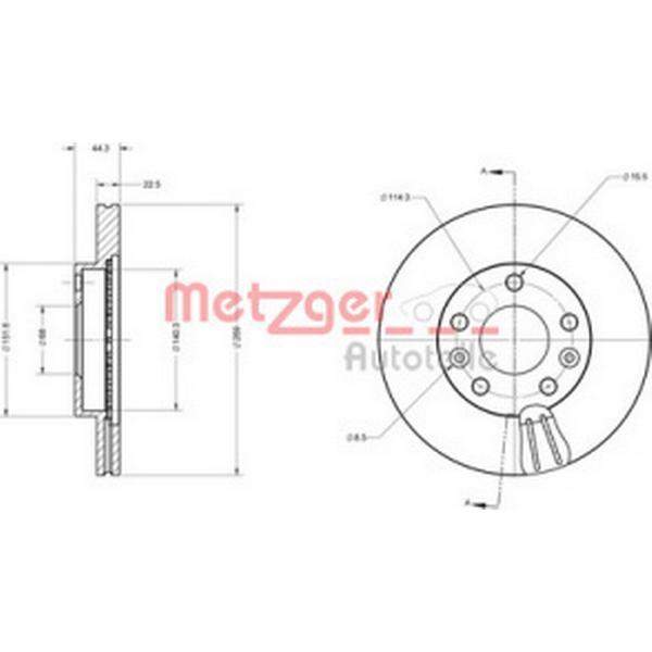 Metzger 6110683