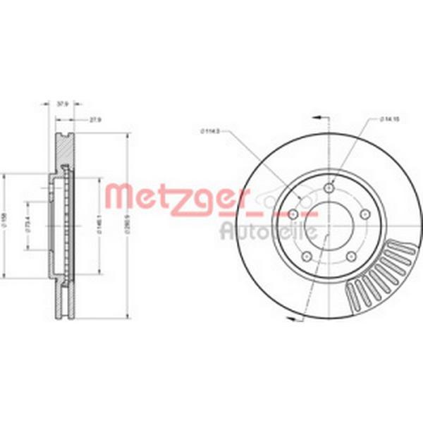 Metzger 6110382