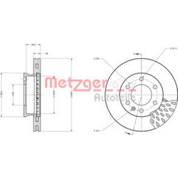 Metzger 6110151