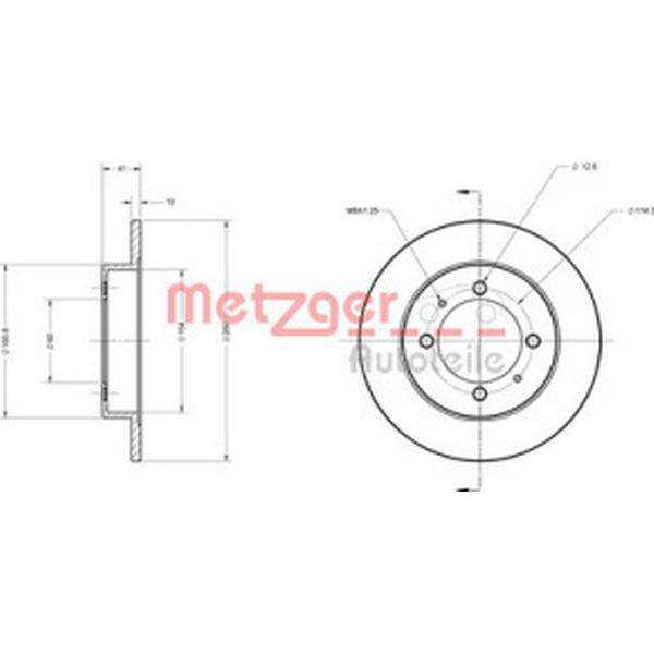 Metzger 6110186