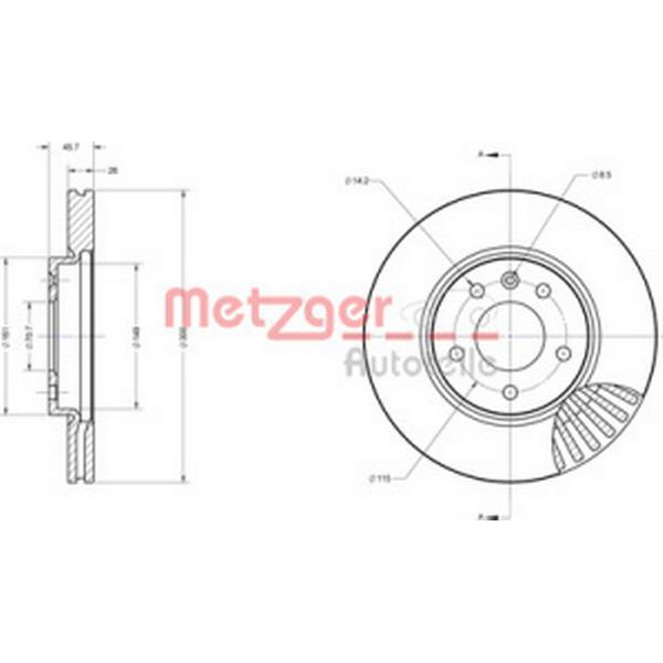 Metzger 6110583