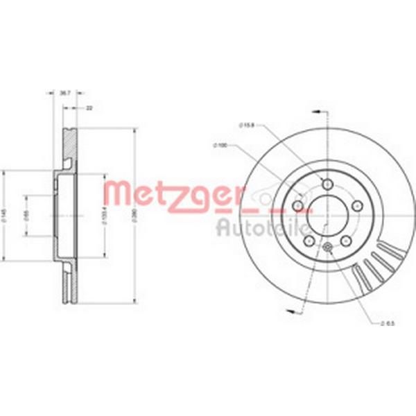 Metzger 6110068