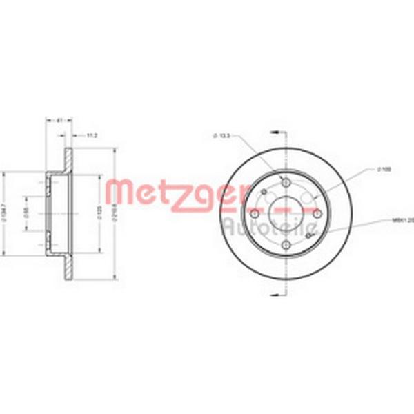 Metzger 6110214