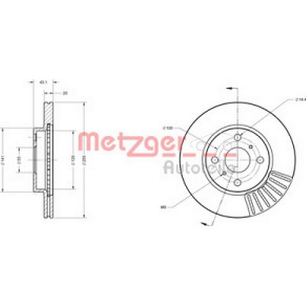 Metzger 6110154